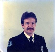 Image of Auburn Fireman Stan Laatsch - Print, Photographic