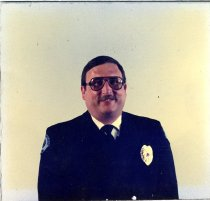Image of Auburn Fireman Bill Peterson - Print, Photographic