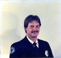 Image of Auburn Fireman Richard Schneider - Print, Photographic