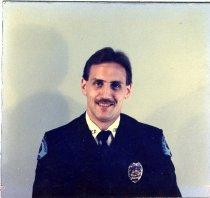 Image of Auburn Fireman Neil Pederson - Print, Photographic