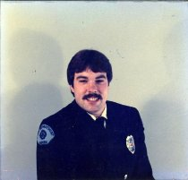 Image of Auburn Fireman Gary Eversaul - Print, Photographic