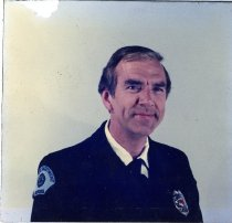 Image of Auburn Fireman Fred Fisher - Print, Photographic