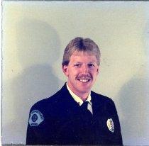 Image of Auburn Fireman Randy Shelton - Print, Photographic