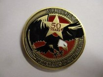 Image of Auburn Veterans Day Parade Coin - Coin, Commemorative