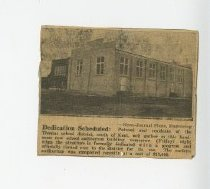 Image of News Clippings of Thomas School, Students, Teachers, and Alumni - Newspaper