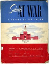 Image of Schools at War:  A Report to the Nation - Manuscript