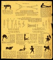 Image of Nutrition and Fitness Information for Children, c. 1933 - Pamphlet, Instruction