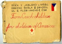Image of Correspondence Received from Junior Red Cross Pen Pal Program - Letter