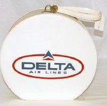Image of Delta Flight Bag - ca. 1962
