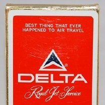 Image of Delta Royal Jet Service Playing Cards - 1965