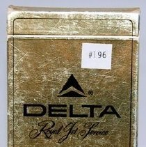 Image of Delta Royal Jet Service Playing Cards, Back