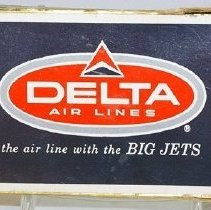 Image of Delta the air line with the BIG JETS Playing Cards, Front