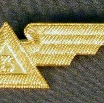 Image of Delta Stewardess Hat Badge, 1940-1942 Summer