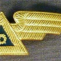 Image of Delta Stewardess Uniform Hat Badge, 1940-1942 Winter
