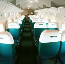 Image of Delta Douglas DC-3 Ship 41 interior