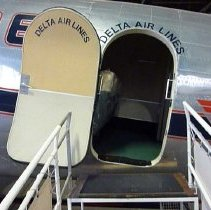 Image of Delta Douglas DC-3 Ship 41 entrance