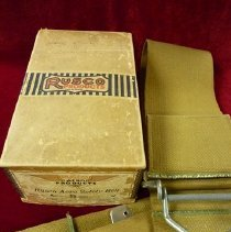 Image of Rusco Aero Safety Belt owned by Doug Davis, Sr., 1930s