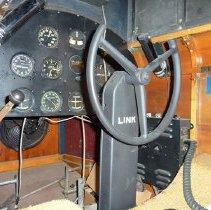 Image of Link Trainer Model AN-T-18 Flight Simulator, interior