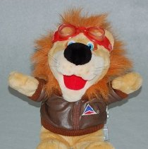 Image of Dusty the Delta Air Lion