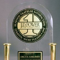 Image of J.D. Power Award to Delta - 1994