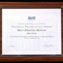 Image of National Preservation Award, DC-3 Ship 41, 2001