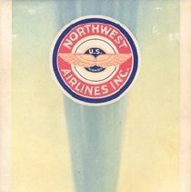 Image of Northwest Airlines Souvenir Air Log - 1939