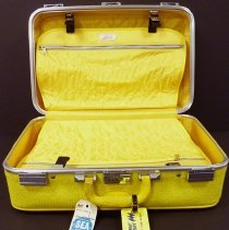 Image of Hughes Airwest flight attendant suitcase