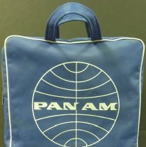 Image of Pan Am Flight Bag - ca. 1963-1970