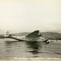 Image of Pan American Boeing Clipper at Pearl Harbor - 02/23/1939