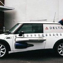 Image of Delta Mini Cooper in 2007 branding