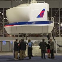 Image of Delta Boeing 737-200-5 Full Motion Flight Simulator  - 1999