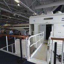 Image of Delta Boeing 737-200 flight simulator entrance, 2014