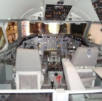 Image of Convair 880 Cockpit Interior