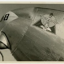 Image of World War II Air Transport Command aircraft nose art