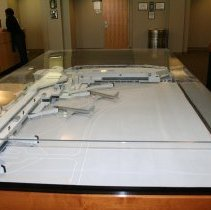 Image of ATL International Terminal architect's model