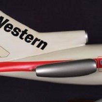 Image of Western Boeing 727-200, N72710 (False N#), Model Airplane