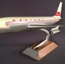 Image of Western Airlines Boeing 720B, N93141, Model Airplane - 1966