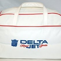 Image of Delta Convair 880 San Francisco-Dixie Flight Bag, side 2