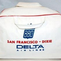 Image of Delta Convair 880 San Francisco-Dixie Flight Bag, side 1