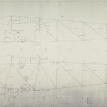 Image of Huff Daland Petrel Fuselage Drawing No. 102, Sheet No. 2, 6/19/1936