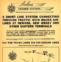 Image of Airline Feeder System page from OAG, November 1938