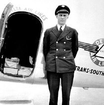 Image of Charles Dolson, Delta pilot, ca. late 1930s