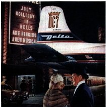 Image of Delta to New York...from all the South - 1957