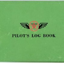 Image of Delta Stewardess Sybil Peacock's Flight Logbooks - 1940-1947