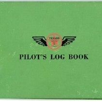 Image of Delta Stewardess Sybil Peacock's Flight Logbook, Vol. 1, cove