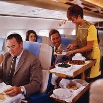 Image of Delta Royal Service Meal Service, 1969