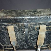 Image of Glen Mefferd's Flight Bag, name detail