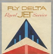 Image of Delta Widget Logo Prototype Drawing  - ca. 1955-1958
