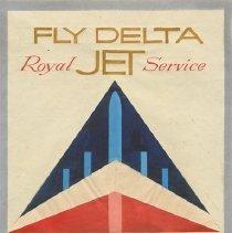 Image of Delta Widget Logo Prototype Drawing, ca. 1955-1958
