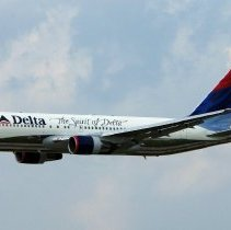 Image of The Spirit of Delta, Colors in Motion Livery, 2001